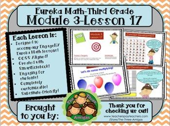 M3L17 Eureka Math-Third Grade: Module 3 Lesson 17 SmartBoa