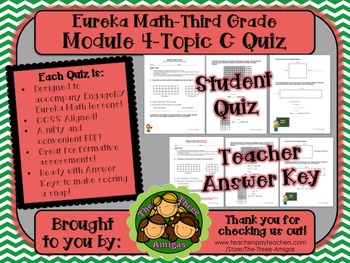 M4 Eureka Math - Topic C Quiz (Grade 3)
