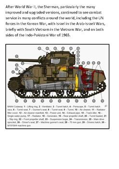 M4 Sherman Tank Handout