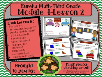 M4L02 Eureka Math-Third Grade: Module 4-Lesson 2 SmartBoard Lesson