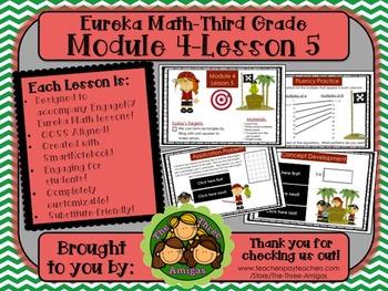 M4L05 Eureka Math-Third Grade: Module 4-Lesson 5 SmartBoar