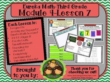 M4L07 Eureka Math-Third Grade: Module 4-Lesson 7 SmartBoard Lesson