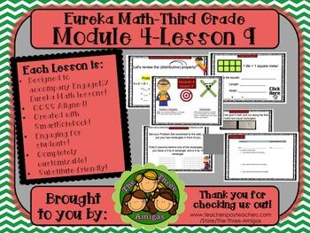 M4L09 Eureka Math-Third Grade: Module 4-Lesson 9 SmartBoard Lesson