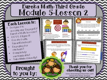 M5L02 Eureka Math - Third Grade: Module 5-Lesson 2 Smartboard Lesson