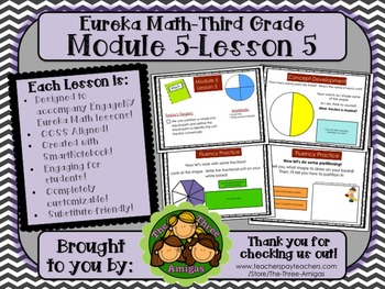 M5L05 Eureka Math - Third Grade: Module 5-Lesson 5 Smartboard Lesson