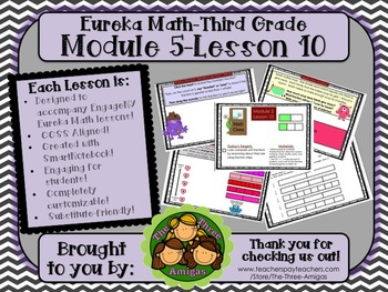 M5L10 Eureka Math - Third Grade: Module 5- Lesson 10 Smartboard Lesson
