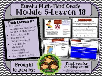 M5L18 Eureka Math - Third Grade: Module 5-Lesson 18 Smartboard Lesson