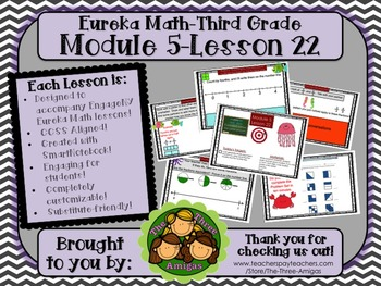 M5L22 Eureka Math - Third Grade: Module 5-Lesson 22 Smartboard Lesson