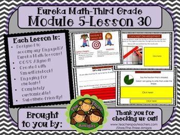 M5L30 Eureka Math - Third Grade: Module 5-Lesson 30 Smartboard Lesson