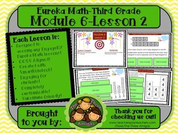 M6L02 Eureka Math - Third Grade: Module 6-Lesson 2 Smartboard Lesson