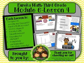 M6L04 Eureka Math - Third Grade: Module 6-Lesson 4 Smartboard Lesson