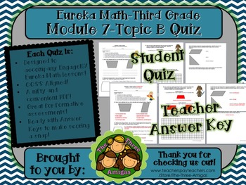 M7 Eureka Math - Topic Quiz B (Third Grade)