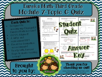M7 Eureka Math - Topic Quiz C (Third Grade)