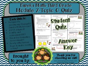 M7 Eureka Math - Topic Quiz C (Third Grade)
