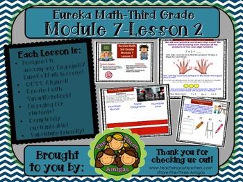 M7L02 Eureka Math-Third Grade: Module 7-Lesson 2 SmartBoard Lesson