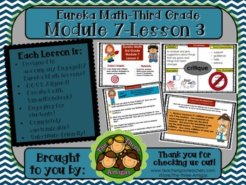 M7L03 Eureka Math-Third Grade: Module 7-Lesson 3 SmartBoard Lesson