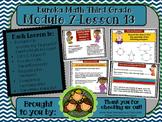 M7L13 Eureka Math-Third Grade: Module 7-Lesson 13 SmartBoard Lesson