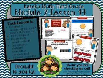 M7L14 Eureka Math - Third Grade: Module 7-Lesson 14 Smartboard Lesson