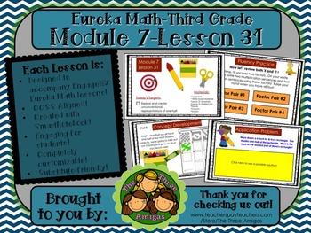 M7L31 Eureka Math-Third Grade: Module 7-Lesson 31 SmartBoa