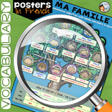 FRENCH FAMILY POSTER - MA FAMILLE