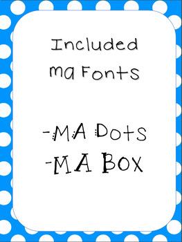 MA Fonts