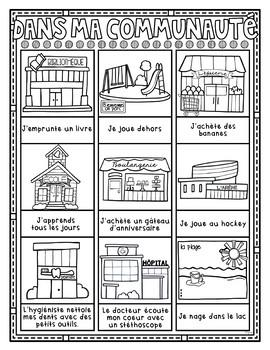 MA VILLE • Cartes de vocabulaire