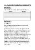 MA VILLE GCSE  (FOUNDATION) WORKSHEETS