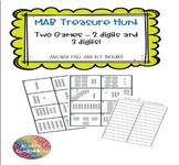 MAB / Base 10 Treasure Hunt - 2 digit and 3 digit numbers