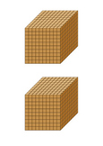 MAB Bundle (Thousand, Hundreds, Tens and Ones blocks all included)