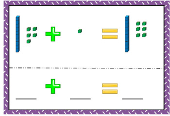 MAB addition task cards