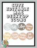 Editable MAC Desktop Icons/Folders