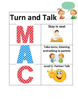 MAC poster for Turn and Talk