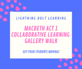 MACBETH Act 1 Collaborative Learning Gallery Walk Review