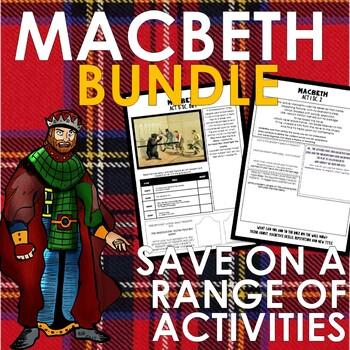 MACBETH BUNDLE - Full of Worksheets, Activities and Engaging Tasks!