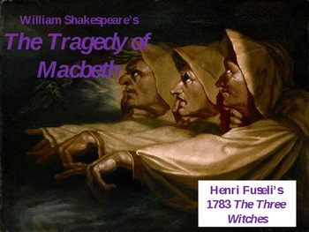 MACBETH PowerPoint: The Tragedy, The Globe, The Analysis