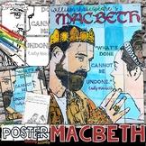 MACBETH, WILLIAM SHAKESPEARE, COLLABORATIVE POSTER, WRITING ACTIVITY
