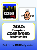 MAD: Complete Core Word Activity Set