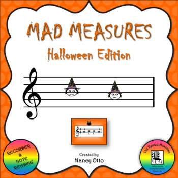 Mad Measures: Halloween Edition - Notes BA
