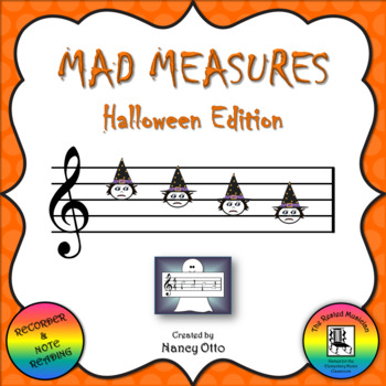 Mad Measures: Halloween Edition - Notes CBAG