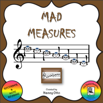 Mad Measures - Notes DCBAGED