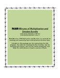 MAD Minutes of Multiplication & Division (Bundle)
