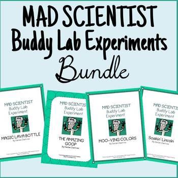 MAD SCIENTIST Buddy Lab Experiment BUNDLE