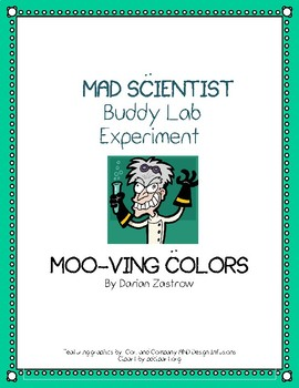 MAD SCIENTIST Buddy Lab Experiment: Moo-ving Colors