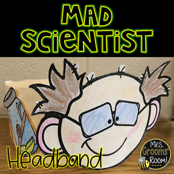 MAD SCIENTIST HEADBAND