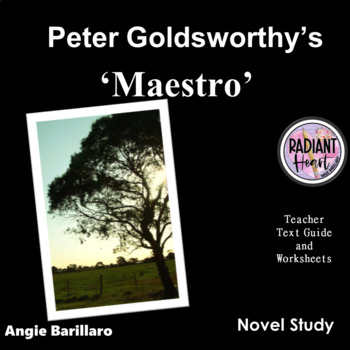 MAESTRO - PETER GOLDSWORTHY TEACHER TEXT GUIDES AND WORKSHEETS
