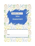 MAFS.3.NF.1.3 - 10 Question Assessment (multiple DOK's and FSA item types)
