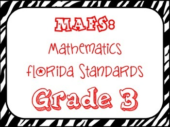 MAFS:  3rd Grade Math Florida Standards 2014