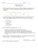 MAFS.4.OA.1.1-1.2 & MAFS.4.NBT.2.5 Assessment