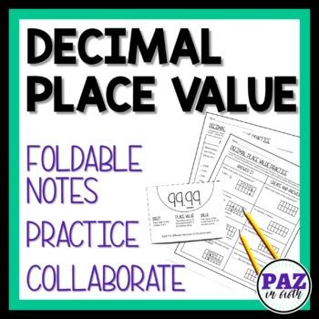 MAFS Decimal Place Value - Fifth Grade