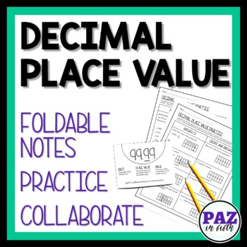 MAFS Decimal Place Value - Fifth Grade